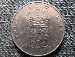 Svédország VI. Gusztáv Adolf (1950-1973) 1 Korona 1972 U (id44261)