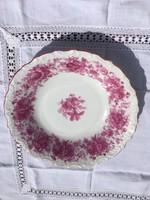 Bavaria rózsás virágos nagy mély tál tányér kínáló 28cm