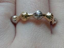 Különleges 14k arany gyűrű