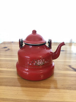 Zománcozott teáskanna