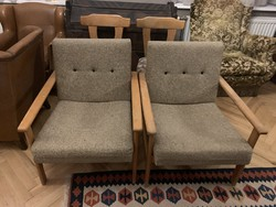 50 éves retro fotelek párban