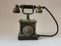 Antik telefon asztali öngyújtó
