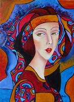 ROXANA---B.Tóth Irisz ABSZTRAKT festmény