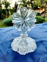 Kristály parfümös üveg