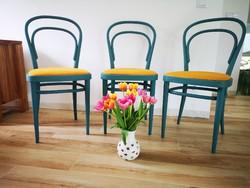 3 db Thonet szék felújítva