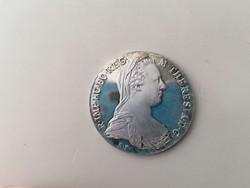 Ezüst Mária Terézia tallér 1780 SF gyönyörű hibátlan állapotú.