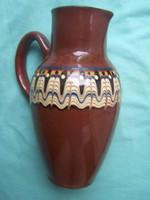 Bolgár kerámia kancsó jellegzetes díszítéssel