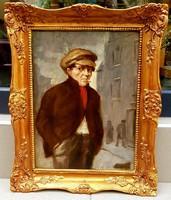 Czene Béla (1911-1999) : Férfi a városban