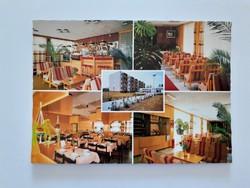 Retro képeslap Csopak Eü. Dolgozók Szakszervezetének üdülője régi levelezőlap