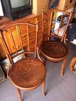 Thonet szék,székpár,2 db,jelzett