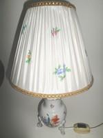   Herendi lámpa (virágmintás) lámpaernyővel