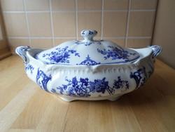 Antik Wedgwood Etruria Versailles angol porcelán ragus tál
