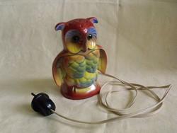 Antik bagoly illatlámpa parfüm asztali lámpa