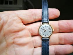 Eterna14k arany quartz női óra