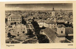 """*C"""" - 049 Futott magyarországi képeslapok  Nagykőrös - látkép  (eredeti 60 filléres)"""
