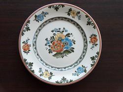 Dísztányér, Villeroy&Boch, fali tányér, gazdagon virágmintás