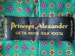 PRINCEPS ALEXANDER-VINTAGE SELYEM NYAKKENDŐ!