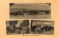 """*C"""" - 050 Futott magyarországi képeslapok  Királyrét - részletek  (eredeti 60 filléres)"""