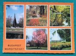 Magyarország,Budapest,Margitsziget,használt képeslap,1985