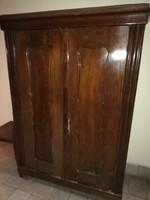 Neobarokk 2 ajtós szekrény
