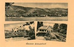 *B - 028 Posta tiszta Magyarország:  Leányfalu - részletek  (eredeti 60 filléres)