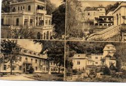 """*C"""" - 026 Futott magyarországi képeslapok  Visegrád - részletek  (eredeti 60 filléres)"""
