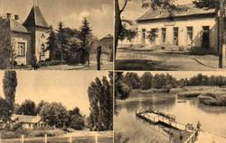 *B - 003  Posta tiszta Magyarország:  Gyömrő- részletek  (eredeti 60 filléres)