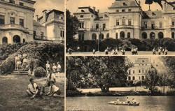 *B - 027 Posta tiszta Magyarország:  Tóalmás - részletek  (eredeti 60 filléres)