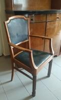 Antik, régi, karfás szék íróasztalhoz (szecesszió) eladó