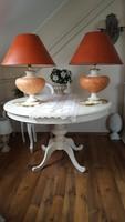 2 db. hatalmas,Le Dauphin France,kerámia asztali lámpa