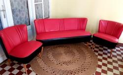 Retro Sky garnitúra 2 fotel + kanapé nosztalgia darabok