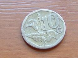 DÉL AFRIKA 10 CENT 2008 (iNingizimu Afrika - Swati legend) ARUM LILIOM #