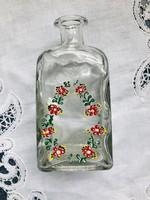 Kézzel festett díszüveg