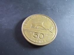 50 Drahma 1990 Görögország