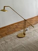 Réz asztali lámpa állítható