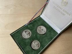 Jugoszlávia - Asztalitenisz Világbajnokság 1981 - Ezüst gyűjtői érme sor