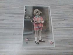 Antik képeslap. Reprodukció.