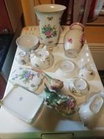 Herendi Antik porcelánok sok darab