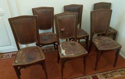 6 antik szék