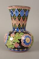 Csenki (Czvalinga) István HMV majolika váza