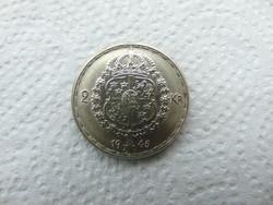 Svédország ezüst 2 korona 1945 13.97 gramm