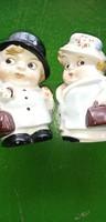 Aranyos Régi GDR Porcelán figurák