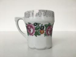 Antik rózsás bögre Altrohlau 1884-1909