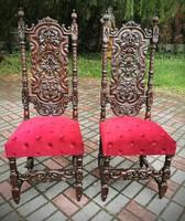Reneszánsz székek párban