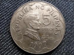 Fülöp-szigetek Emilio Aguinaldo 5 peso 1997 (id36420)