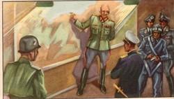 Gyűjthető grafikus katonai képeslap, N 12 Bij Het O.K.W in Normandie