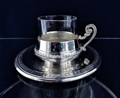 Édes ezüst kávés csésze Csodás ajándék!