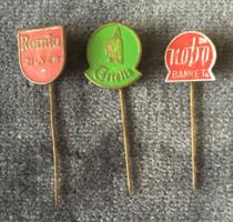 Remia, Castella, Nobo - holland jelvények a 60-as évekből
