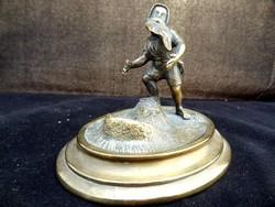Bronz szobor miniatúra
