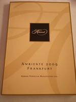 Herend Ambiente Frankfurt 2009 Katalógus